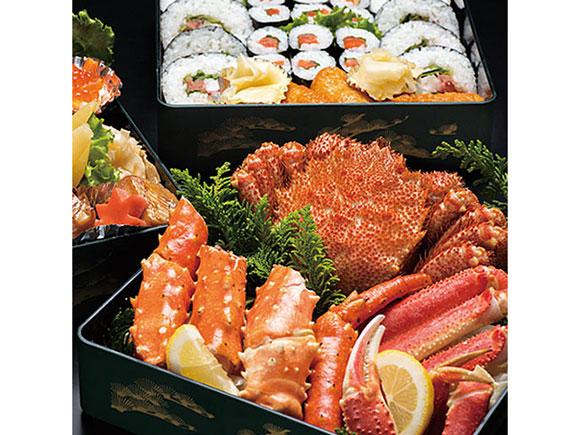 二の重には海鮮料理
