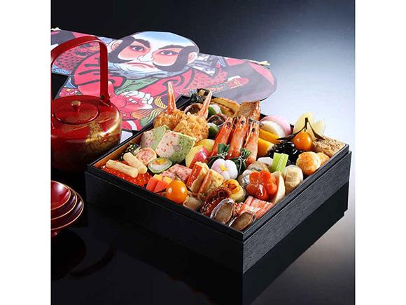 奥城崎シーサイドホテル 和風おせち「季魚菜」1段重