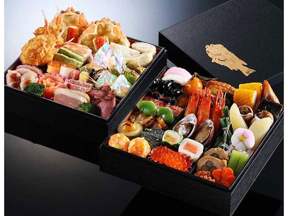 奥城崎シーサイドホテル 和洋おせち「季魚菜」2段重
