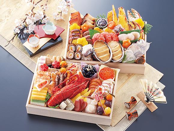 京都「味ま野」の超高級二段重おせち