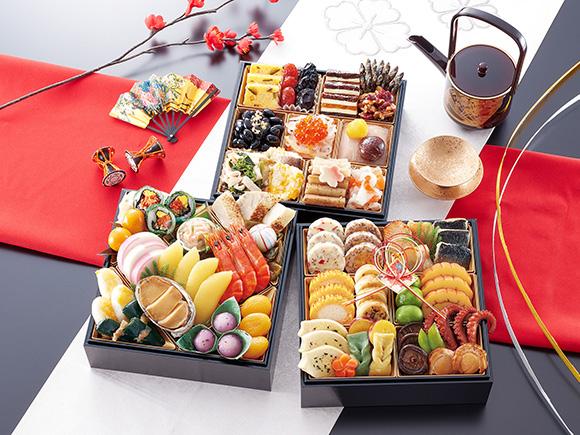 京都「味ま野」の京料理おせち「花柳」(はなやぎ)
