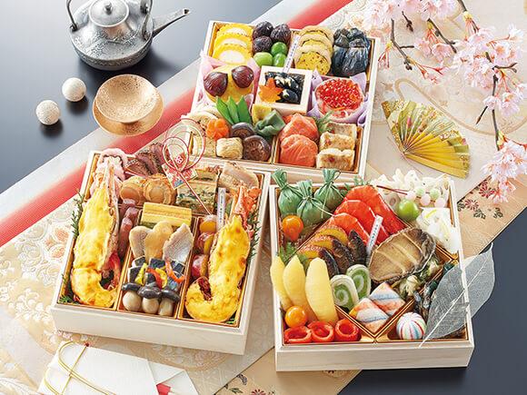 京都「味ま野」の和洋おせち「翠柳」(すいりゅう)