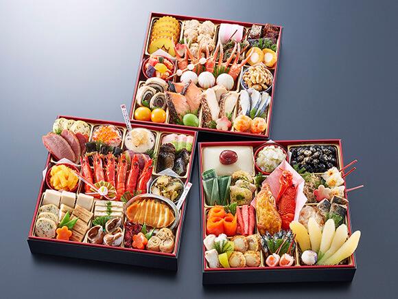 本物の京料理の豪華さに目を見張る特大重
