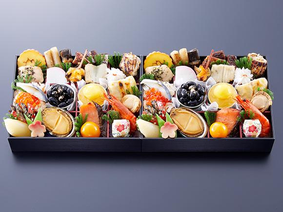 一重に26品目の京風料理がぎっしり。