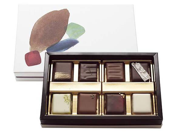 別添えでチョコレートも付いてくる!