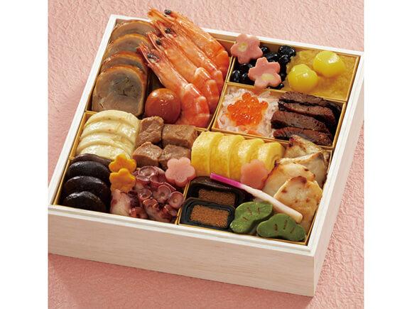 壱の重は伝統的な日本料理17品