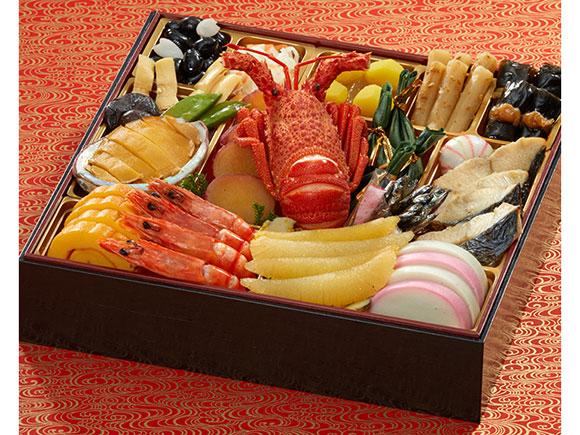 和の重には日本料理が22品
