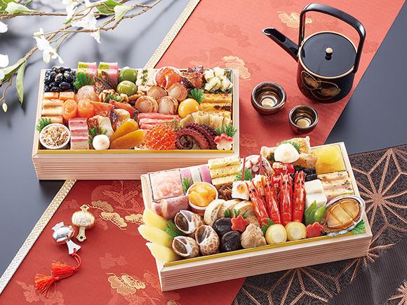 大阪「はし本」の海鮮おせち「喜翔」