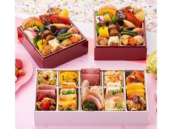 京都「しょうざん」個食二段おせち&オードブル