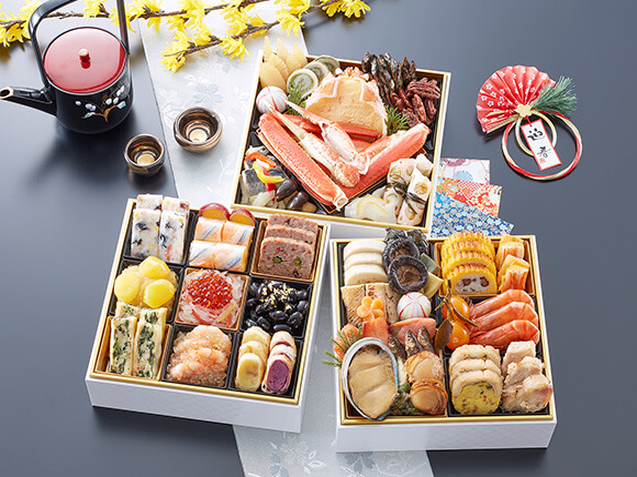 全43品目の豪華な海鮮料理がぎっしり