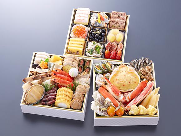 日本海の恵みをおせちで味わう