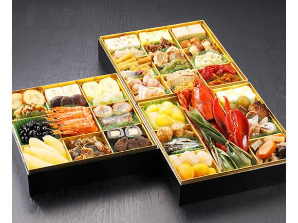 九州の名店「博多久松」監修による大ボリュームおせち